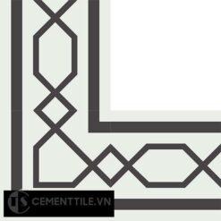 Gạch bông CTS BC117.2(4-13) - Encaustic cement tile CTS BC117.2(4-13)