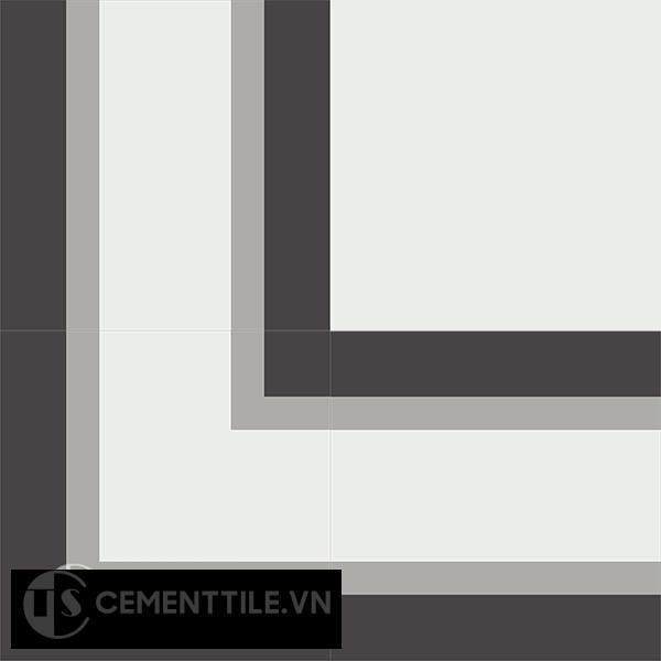 Gạch bông CTS BC124.1(4-9-13) - Encaustic cement tile CTS BC124.1(4-9-13)