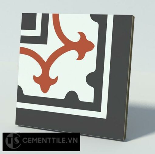 Gạch bông CTS C101.4(4-13-30) - Encaustic cement tile CTS C101.4(4-13-30)