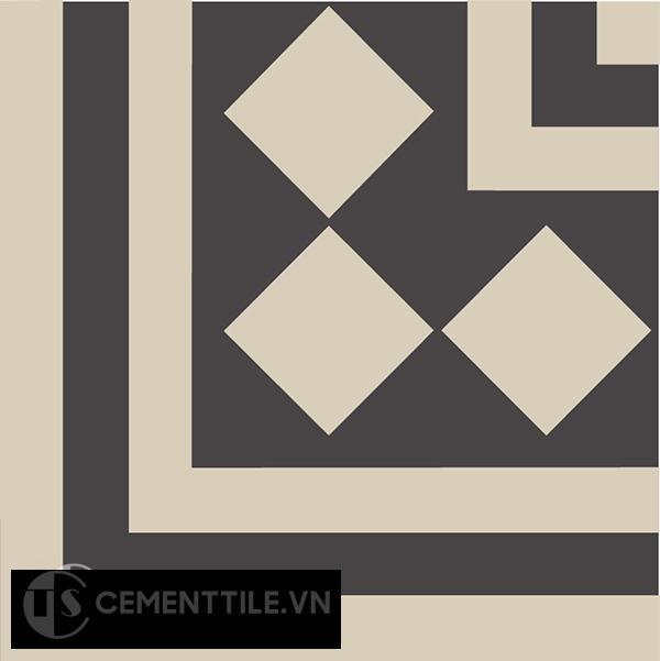 Gạch bông CTS C106.1(12-13) - Encaustic cement tile CTS C106.1(12-13)