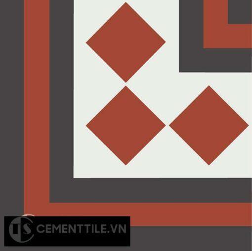 Gạch bông CTS C106.2(4-13-30) - Encaustic cement tile CTS C106.2(4-13-30)