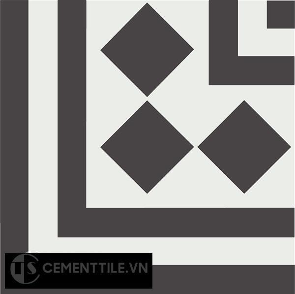 Gạch bông CTS C106.4(4-13) - Encaustic cement tile CTS C106.4(4-13)