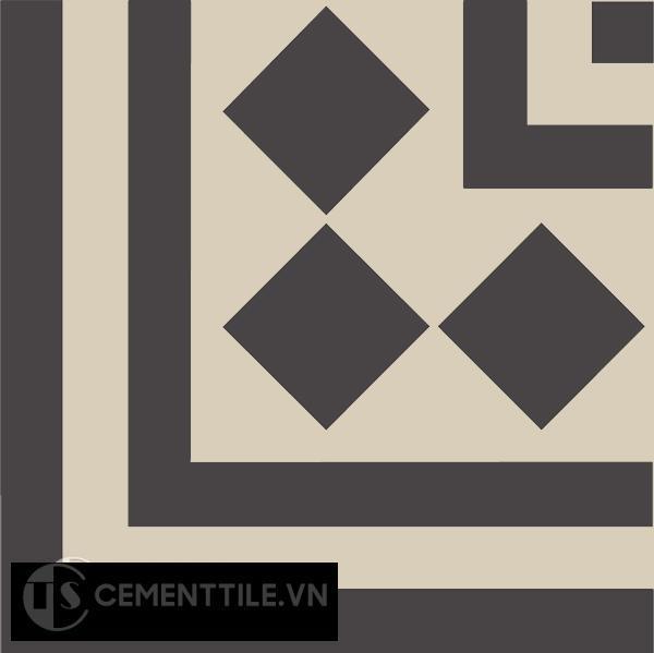 Gạch bông CTS C106.5(12-13) - Encaustic cement tile CTS C106.5(12-13)