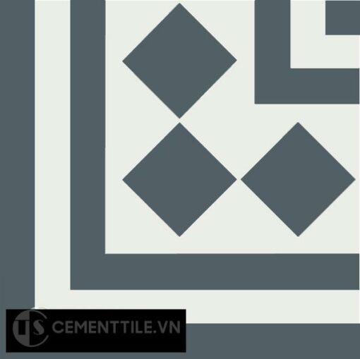 Gạch bông CTS C106.6(4-21) - Encaustic cement tile CTS C106.6(4-21)
