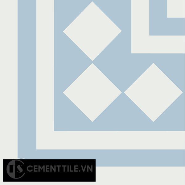 Gạch bông CTS C106.8(4-20) - Encaustic cement tile CTS C106.8(4-20)