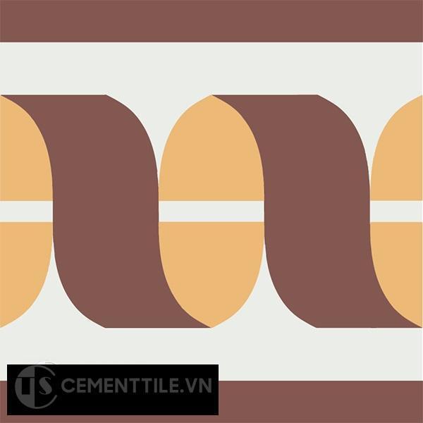 Gạch bông CTS B120.2(4-6-60) - Encaustic cement tile CTS B120.2(4-6-60)