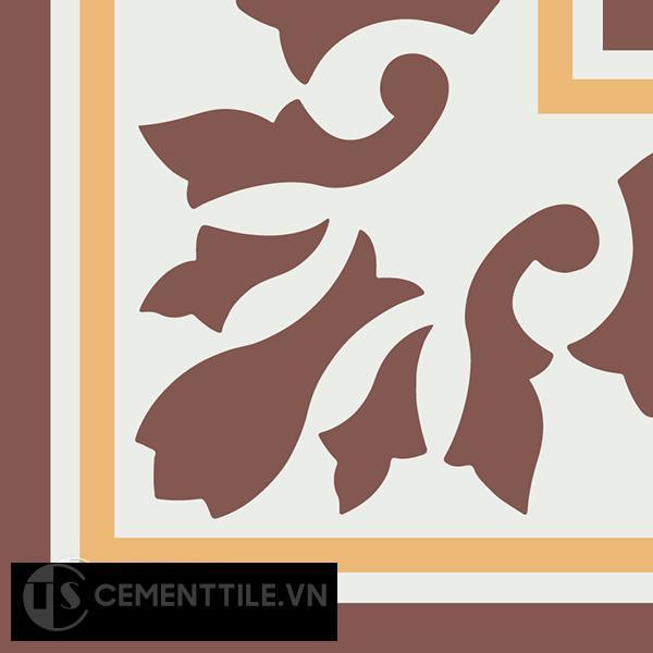 Gạch bông CTS C115.2(4-6-60) - Encaustic cement tile CTS C115.2(4-6-60)