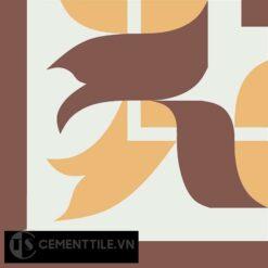 Gạch bông CTS C120.2(4-6-60) - Encaustic cement tile CTS C120.2(4-6-60)