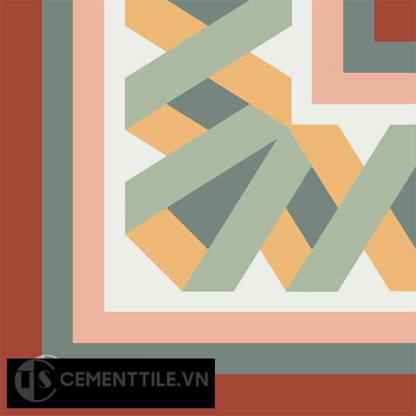 Gạch bông CTS C121.1(4-6-7-24-30-38) - Encaustic cement tile CTS C121.1(4-6-7-24-30-38)