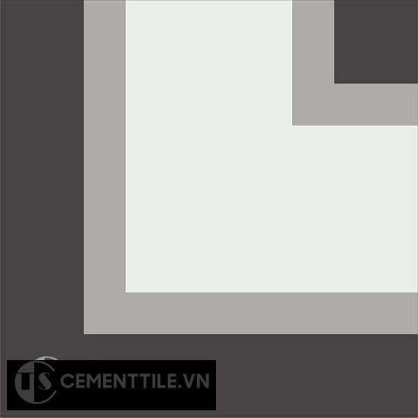 Gạch bông CTS C124.1(4-9-13) - Encaustic cement tile CTS C124.1(4-9-13)