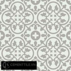Gạch bông CTS 80.3(4-9) - 4 viên - Encaustic cement tile CTS 80.3(4-9)-4 tiles