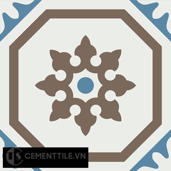 Gạch bông CTS 182.1(4-10-28) - Encaustic cement tile CTS 182.1(4-10-28)