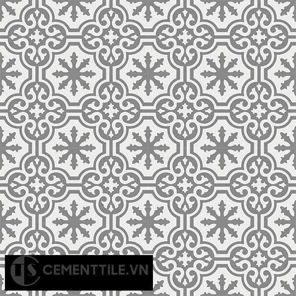 Gạch bông CTS 1.37(4-79) - 16 viên - Encaustic cement tile CTS 1.37(4-79)-16 tiles