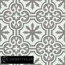 Gạch bông CTS 1.37(4-79) - 4 viên - Encaustic cement tile CTS 1.37(4-79)-4 tiles