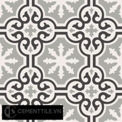 Gạch bông CTS 1.44(4-9-13) - 4 viên - Encaustic cement tile CTS 1.44(4-9-13)-4 tiles