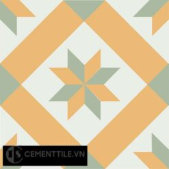 Gạch bông CTS 11.4(4-6-7) - Encaustic cement tile CTS 11.4(4-6-7)