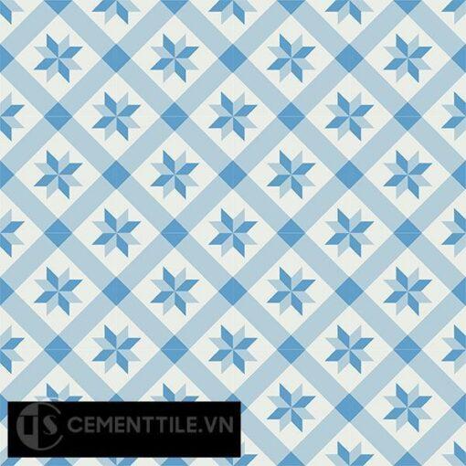 Gạch bông CTS 11.5(2-4-8) - 16 viên - Encaustic cement tile CTS 11.5(2-4-8)-16 tiles