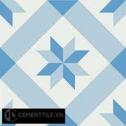 Gạch bông CTS 11.5(2-4-8) - Encaustic cement tile CTS 11.5(2-4-8)