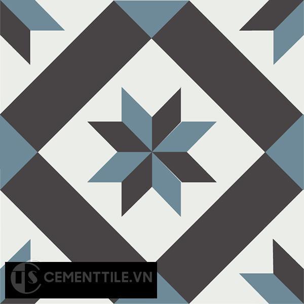 Gạch bông CTS 11.6(4-13-47) - Encaustic cement tile CTS 11.6(4-13-47)