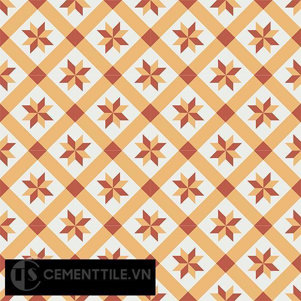Gạch bông CTS 11.7(4-5-6) - 16 viên - Encaustic cement tile CTS 11.7(4-5-6)-16 tiles