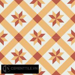 Gạch bông CTS 11.7(4-5-6) - 4 viên - Encaustic cement tile CTS 11.7(4-5-6)-4 tiles