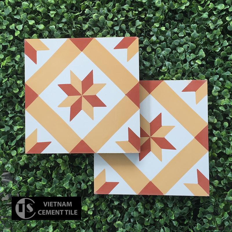 Gạch bông CTS 11.7(4-5-6) - Encaustic cement tile CTS 11.7(4-5-6)