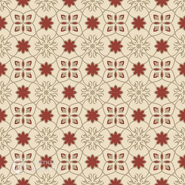 Gạch bông CTS 138.2(55-59-62) - 16 viên - Encaustic cement tile CTS 138.2(55-59-62)-16 tiles
