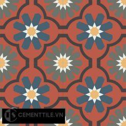 Gạch bông CTS 16.9(3-4-5-6-13) - 4 viên - Encaustic cement tile CTS 16.9(3-4-5-6-13)-4 tiles