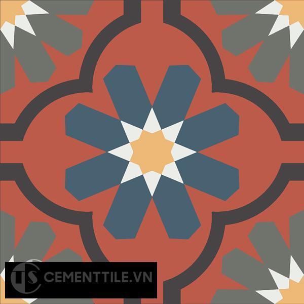 Gạch bông CTS 16.9(3-4-5-6-13) - Encaustic cement tile CTS 16.9(3-4-5-6-13)