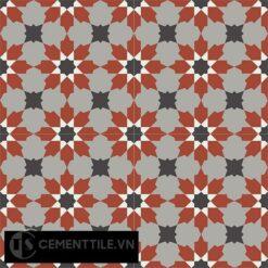Gạch bông CTS 3.10(4-9-13-30) - 4 viên - Encaustic cement tile CTS 3.10(4-9-13-30)-4 tiles
