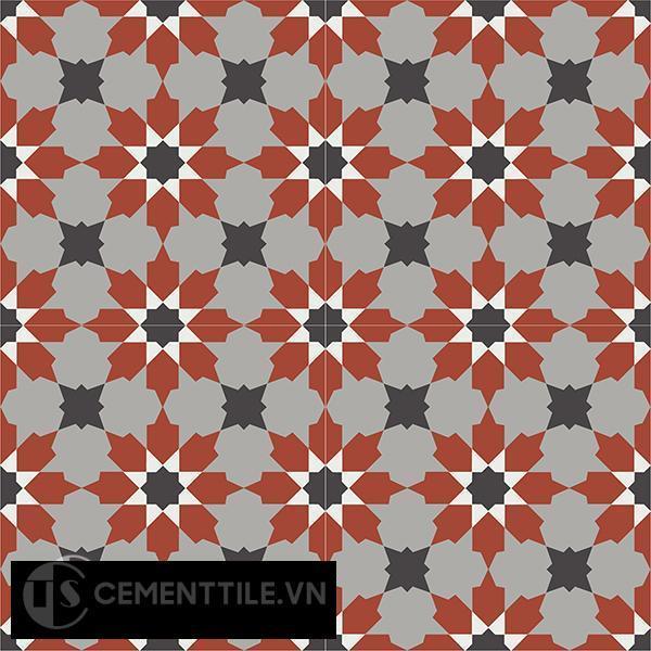 Encaustice cement tile CTS 3 10(4-9-13-30) - Cement tile