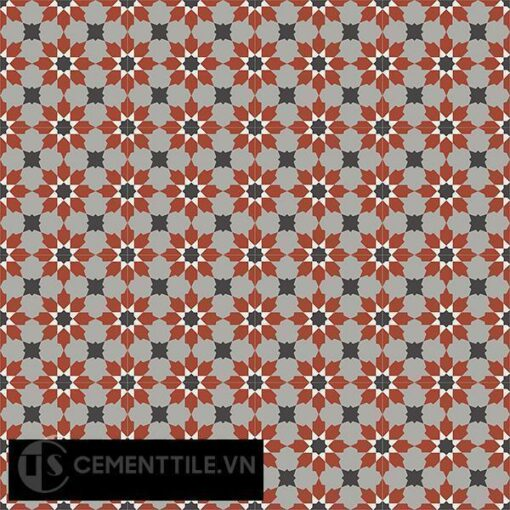 Gạch bông CTS 3.10(4-9-13-30) - 16 viên - Encaustic cement tile CTS 3.10(4-9-13-30)-16 tiles