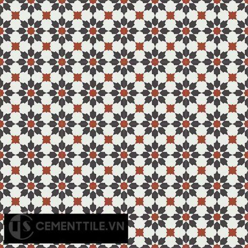 Gạch bông CTS 3.19(4-13-30) - 16 viên - Encaustic cement tile CTS 3.19(4-13-30)-16 tiles