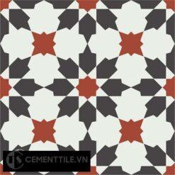 Gạch bông CTS 3.19(4-13-30) - Encaustic cement tile CTS 3.19(4-13-30)