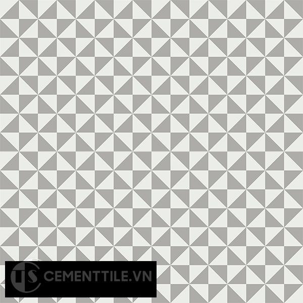 Gạch bông CTS 34.5(4-9) - 16 viên - Encaustic cement tile CTS 34.5(4-9)-16 tiles