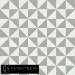 Gạch bông CTS 34.5(4-9) - 4 viên - Encaustic cement tile CTS 34.5(4-9)-4 tiles
