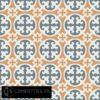 Gạch bông CTS 4.9(4-33-34) - 4 viên - Encaustic cement tile CTS 4.9(4-33-34)-16 tiles