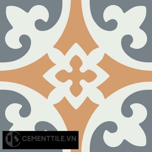 Gạch bông CTS 4.9(4-33-34) - Encaustic cement tile CTS 4.9(4-33-34)