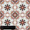 Gạch bông CTS 5.10(4-9-13-30) - 16 viên - Encaustic cement tile CTS 5.10(4-9-13-30)-16 tiles