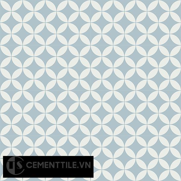 Gạch bông CTS 6.17(4-29) - 16 viên - Encaustic cement tile CTS 6.17(4-29)-16 tiles
