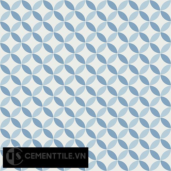 Gạch bông CTS 6.19(2-4-16) - 16 viên - Encaustic cement tile CTS 6.19(2-4-16)-16 tiles