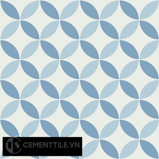 Gạch bông CTS 6.19(2-4-16) - 4 viên - Encaustic cement tile CTS 6.19(2-4-16)-4 tiles