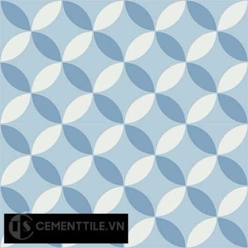 Gạch bông CTS 6.20(2-4-16) - 4 viên - Encaustic cement tile CTS 6.20(2-4-16)-4 tiles
