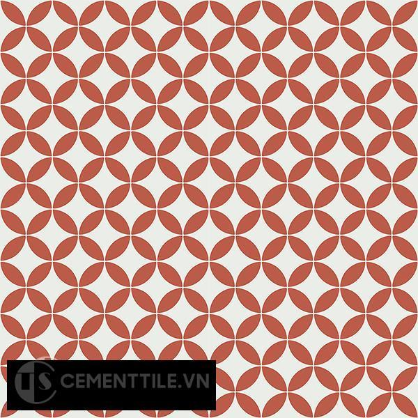 Gạch bông CTS 6.21(4-5) - 16 viên - Encaustic cement tile CTS 6.21(4-5)-16 tiles