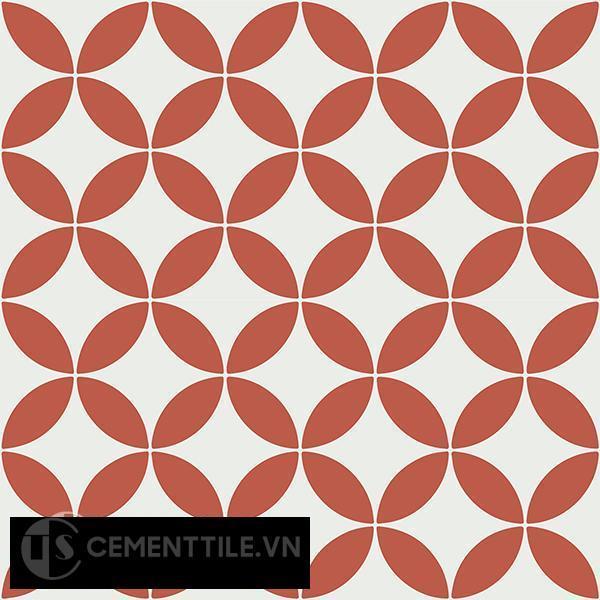 Gạch bông CTS 6.21(4-5) - 4 viên - Encaustic cement tile CTS 6.21(4-5)-4 tiles
