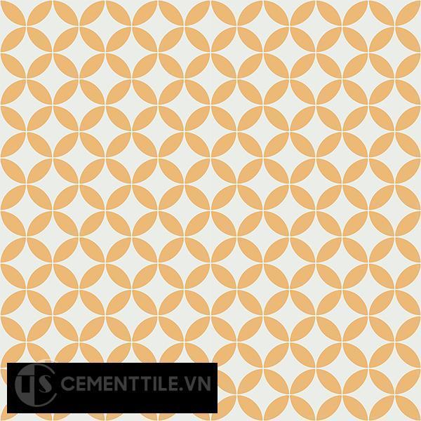 Gạch bông CTS 6.22(4-6) - 16 viên - Encaustic cement tile CTS 6.22(4-6)-16 tiles