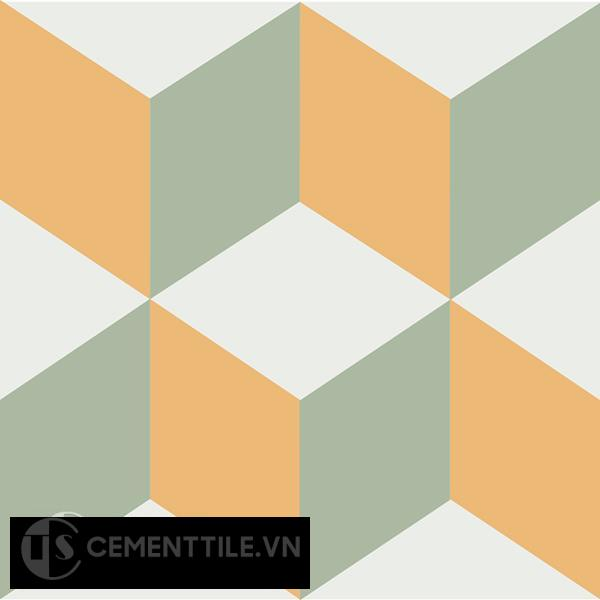 Gạch bông CTS 8.11(4-6-7) - Encaustic cement tile CTS 8.11(4-6-7)