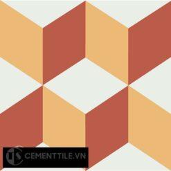 Gạch bông CTS 8.12(4-5-6) - Encaustic cement tile CTS 8.12(4-5-6)