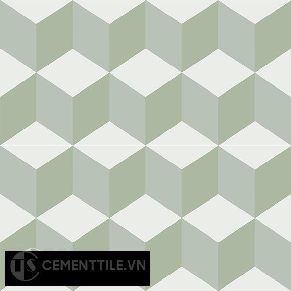 Gạch bông CTS 8.13(4-7-26) - 4 viên - Encaustic cement tile CTS 8.13(4-7-26)-4 tiles