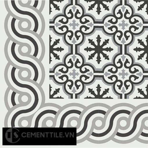 Gạch bông CTS B116.2(4-9-13) - Encaustic cement tile CTS BC116.2(4-9-13)